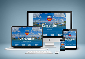 Webdesign-Referenz: Stadt Zarrentin